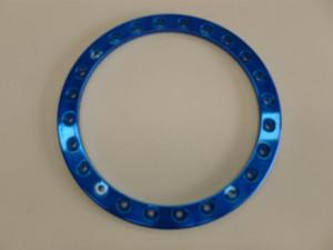 Bead Lock Rings (to suit Off Road Bead Lock Wheels), Blue (sold each)