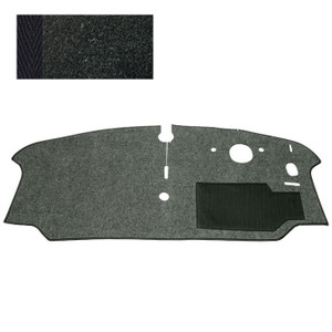 CAB FLOOR CARPET, BAY 73 - 79 RHD (BLACK)