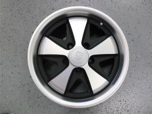 "911 Style Black / Silver Wheels 5 x 112 pcd, 15"" x 5"""
