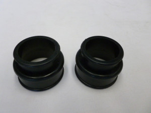 INTAKE MANIFOLD BOOT SILICONE TWIN PORT BLACK PAIR
