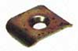 REAR SEAT STRAP CLAMP PLATE, BUG-67