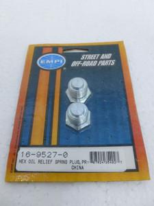 Hex Head Oil Relief Spring Plug (pair)