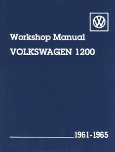 WORKSHOP MANUAL BUG 61-65 1200CC