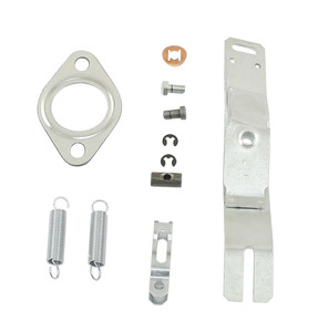 Heater Box Lever Kit, LEFT