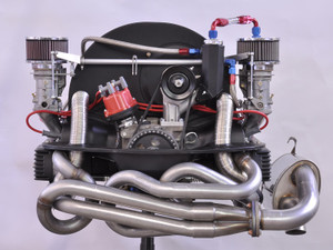 CSP Python Exhaust System, Type I engine into Beetle and Karmann Ghia, 38mm