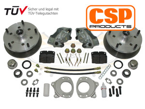 CSP 5 x 205 Front Disc Brake Kit, Bus 1964-1970