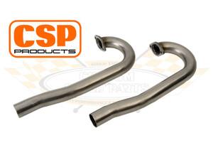 CSP Stainless Steel J Pipe, 38mm (PAIR)