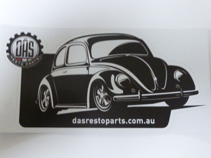 DAS Resto Parts Decal (sticker) - Beetle