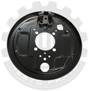 Backing Plate, Bus, 3/55-7/63, Right Rear