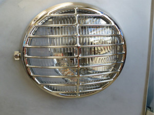 356 HEADLIGHT GRILLS CHROME