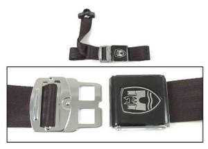 3-Point Seat Belt, Black