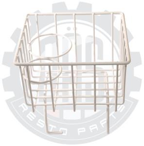 TUNNEL STORAGE BASKET / CUP HOLDER WHITE