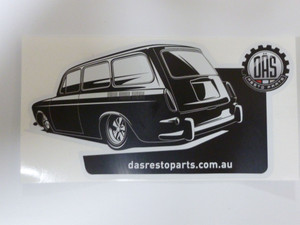 DAS Resto Parts Decal (sticker) - Squareback