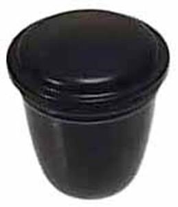 WIPER SWITCH KNOB, BLACK, BUG -61 BUS -65 small thread