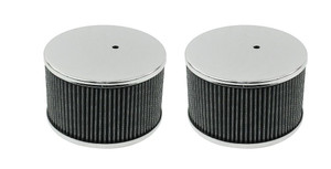 EMPI Chrome Air Filters for Kadron Carbs (PAIR)