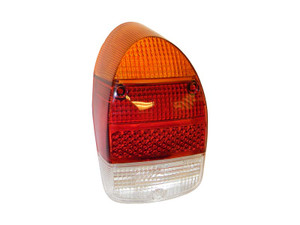 TAIL LIGHT LENS BEETLE 68-72 WITH REVERSE