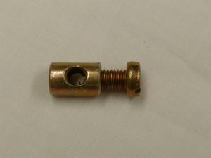 ACCELERATOR CABLE CLAMP, BARREL NUT