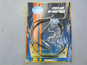 TRANSMISSION STRAP KIT PADDED TYPE 1 BEETLE GHIA HEAVY DUTY