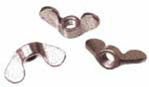 Licence Light Housing Wing Nuts, Beetle through 1957 (Set of 3)