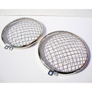 MESH HEADLIGHT GRILLS BUG 68-on, Bus 68-on, ALL TYPE 3
