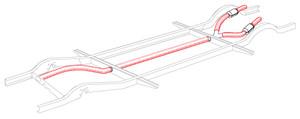 Heater Tube Wrap Kit Bus 55-63