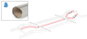 Heater Tube Wrap Kit Bus 63-64