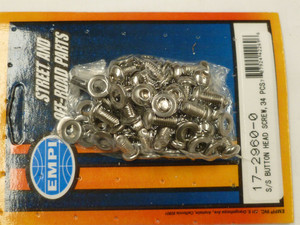 S/S BUTTON HEAD SCREWS