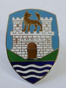 Bonnet Crest, Blue, Beetle 1951-1959 - with base