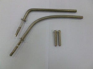 HINGE PIN MIRROR ARM SET. BUS 55-67, STD 8mm