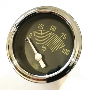 52mm Oil Pressure Gauge 6volt