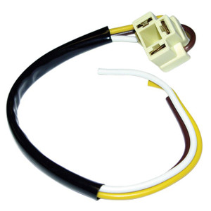Headlight Connector with Wiring