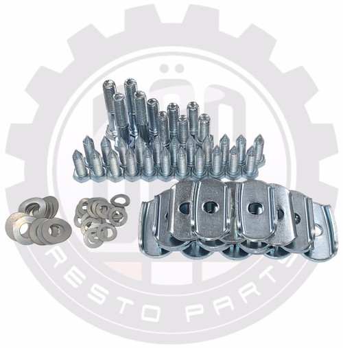COMPLETE BEETLE BODY MOUNTING BOLT KIT