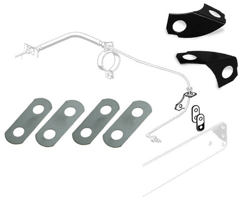 BRAKE LINE/REAR TRAILING ARM LOCK PLATE KIT