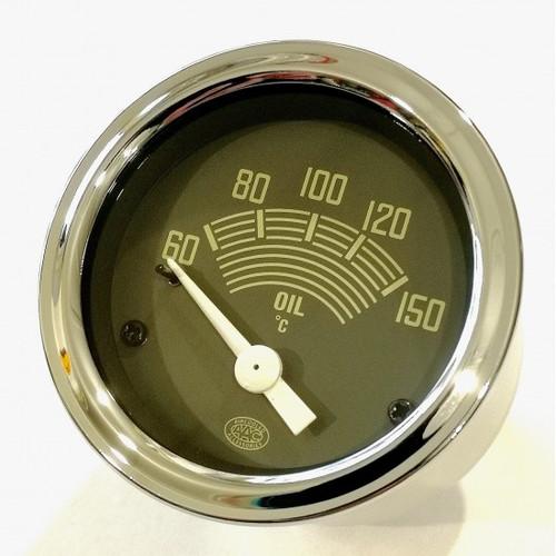 52mm Oil Temperature Gauge 6volt