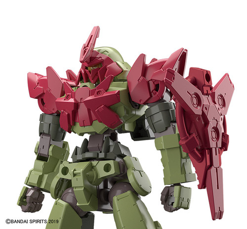 1/144 30MM Optional Armour Commander Type for Alto Exclusive (Red)