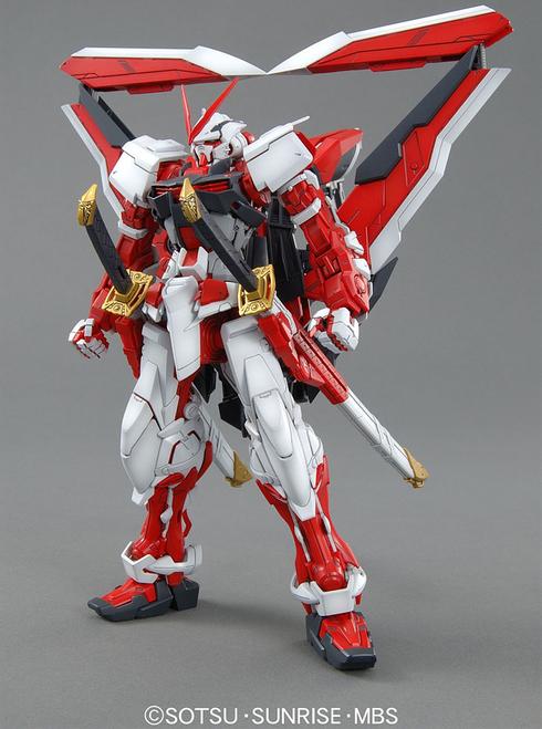 1/100 MG MBF-P02KAI Gundam Astray Red Frame Lowe Guele Custom