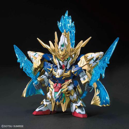 SD Sangoku Soketsuden Zhao Yun 00 Gundam & Bilongou