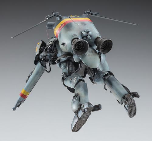 """1/20 Humanoid Type Unmanned Space Interceptor Grosser Hund """"Schwarzer Hund"""""""
