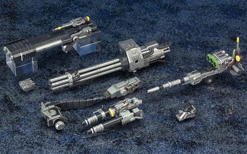 1/72 HMM ZOIDS Customise Parts Beam Gatling Set