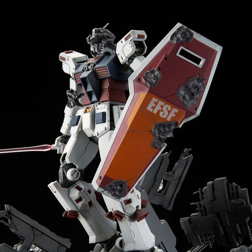 P-Bandai 1/100 MG FA-89 Full Armour Gundam (Thunderbolt) Last Session version