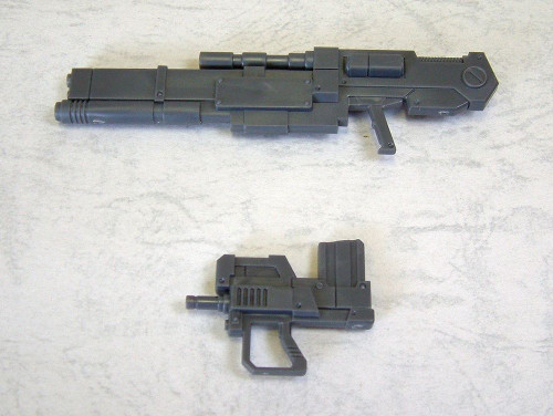 Modelling Support Goods Weapon Unit 01 Rifle & Machingun (Type 1)