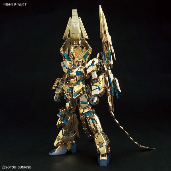 1/144 HGUC RX-0 Unicorn Gundam 03 Phenex (Destroy mode) Narrative ver. (Gold Coating)