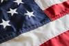 American Flag, Nylon with Striped Pole Hem, 5ft x 8ft, USNY5X8PH