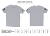 Grunt Style First Responder American Flag T-shirt size chart