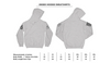Grunt Style First Responder American Flag Hoodie Size Chart