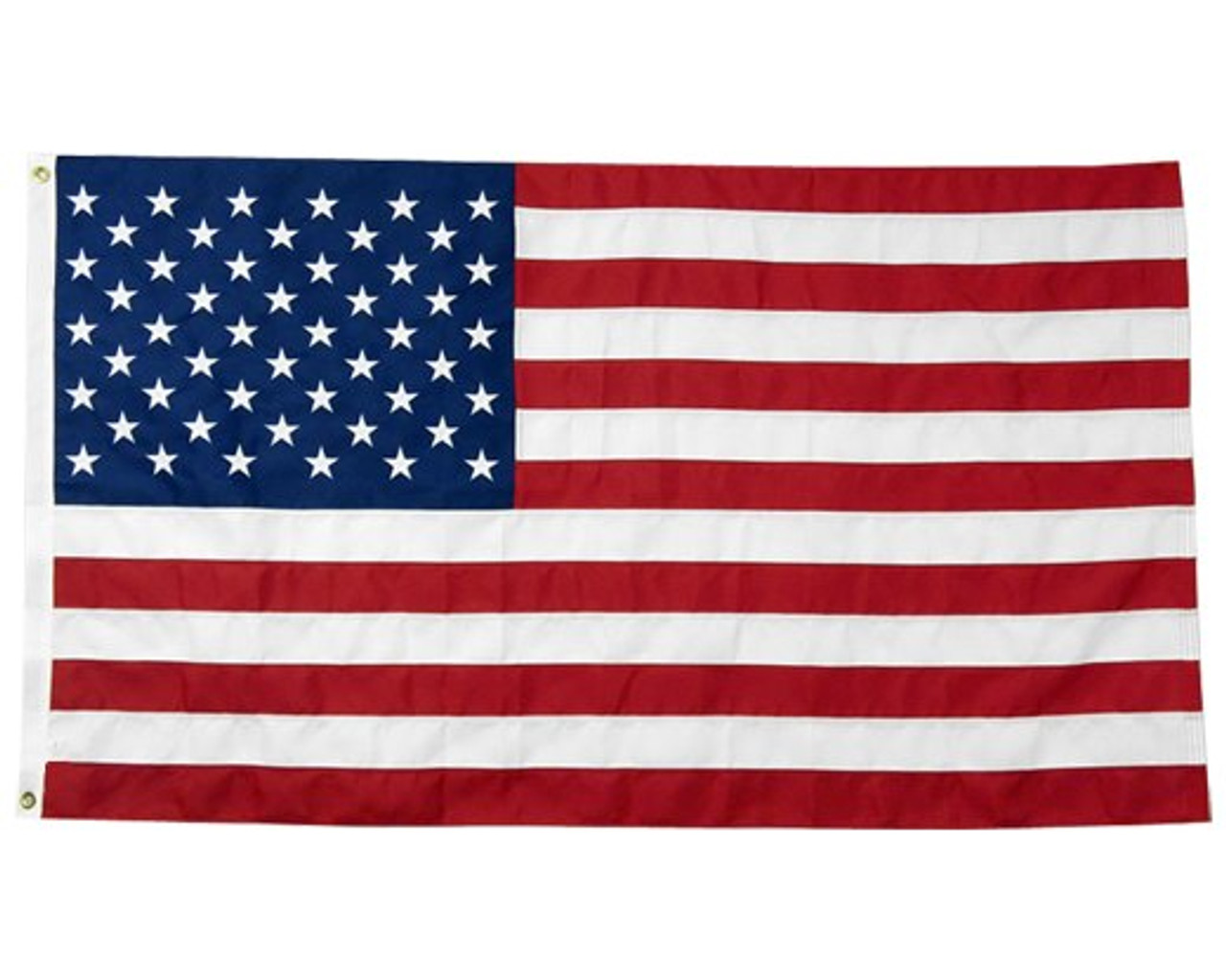 United States of America Flag, 3' x 5', Extra Tough with Header & Grommets