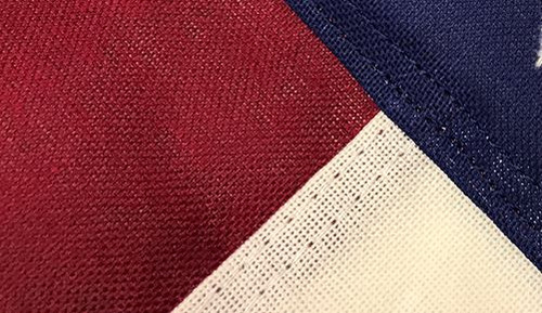 US State of Texas Flag, Cotton Interment with Header and Grommets, TXCOT5X95