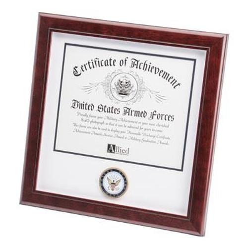 Certificate of Achievement, 12in x 12in, Navy