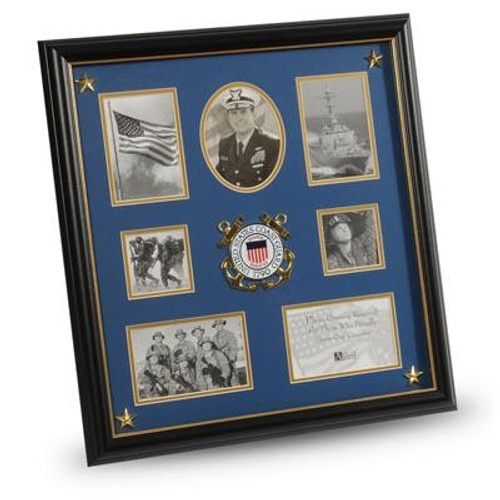 Frame, Collage, Service Medallion, 16in x 17in, MedallionCollege