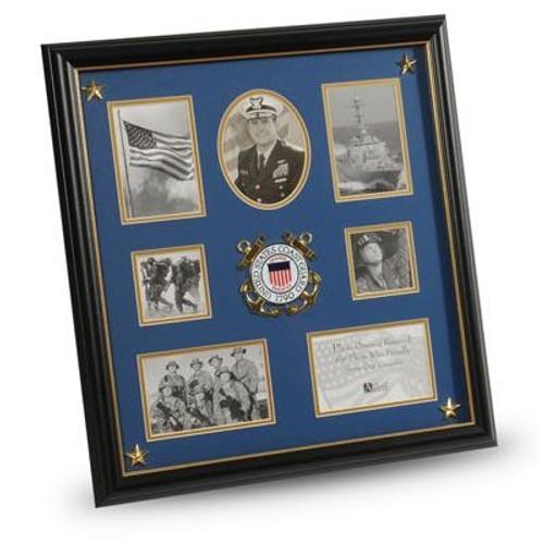 "Service Medallion, 16"" x 17"", Coast Guard"
